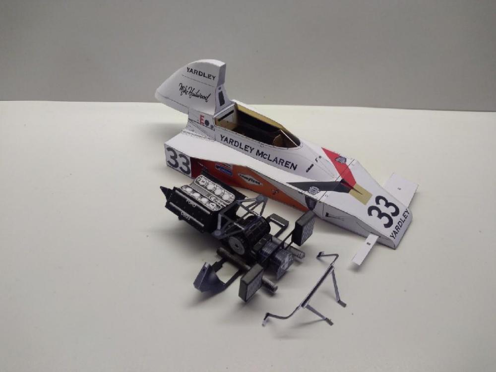 McLaren M23, 1974, M. Hailwood
