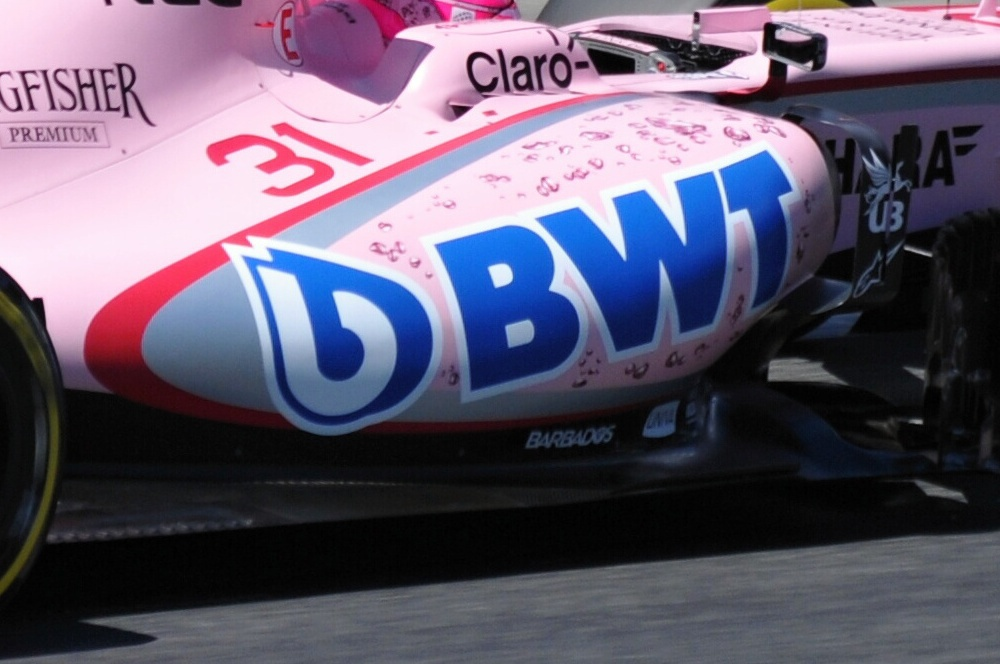 Španělsko 2017 - Force India