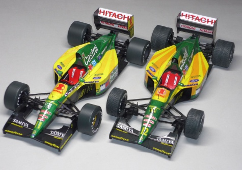 Lotus 107 - Mika Häkkinen - GP Japonska 92