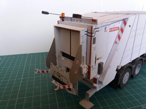 MAN TGS 28.320 - popelářský vůz
