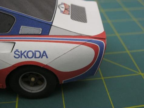 Škoda 130 RS Rally Škoda 1982