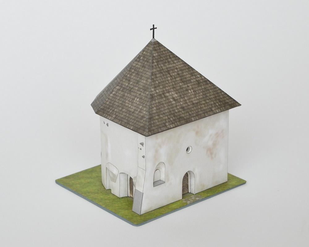 Apsida zaniknutého kostola, Rajecká Lesná