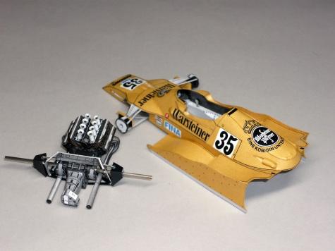 Arrows FA1 - Riccardo Patrese - GP Monaka 1978