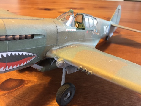 P 40 Curtiss