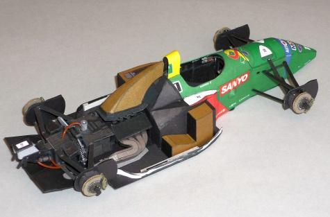 Benetton B190 - Alessandro Nannini - 1990