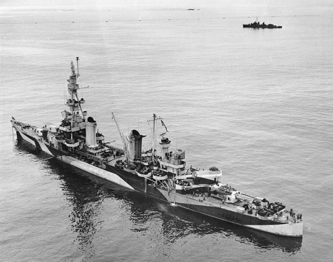 USS Salt Lake City / WAK / 1:200