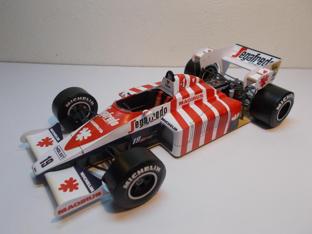 Toleman TG184, Ayrton Senna, GP Portugalska 1984