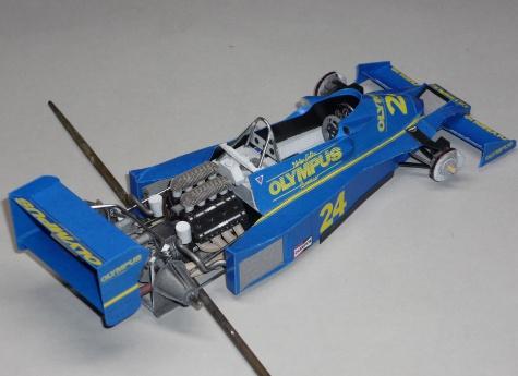 Hesketh 308E - Divina Galica - GP Argentiny 1978