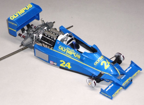 Hesketh 308E - Divina Galica - GP Argentiny 1978
