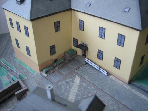 Bývalá barokní fara v Horním Maršově - Dotek