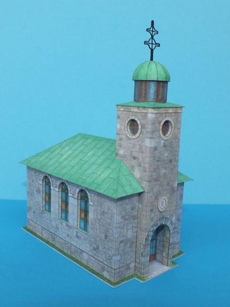 Kostel nad Kalvárií - Oščadnica
