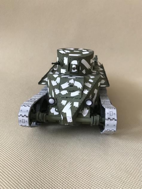 Vojenská technika - dokončená
