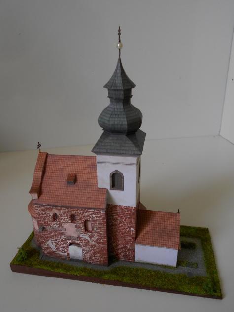 Stříbrná Skalice - kostel sv.Jakuba