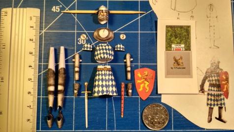 Voják z bitvy u Calenzana 1325