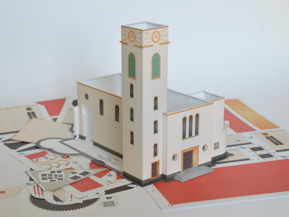 Kostol povýšenia Svätého kríža, Križovany nad Dudváhom