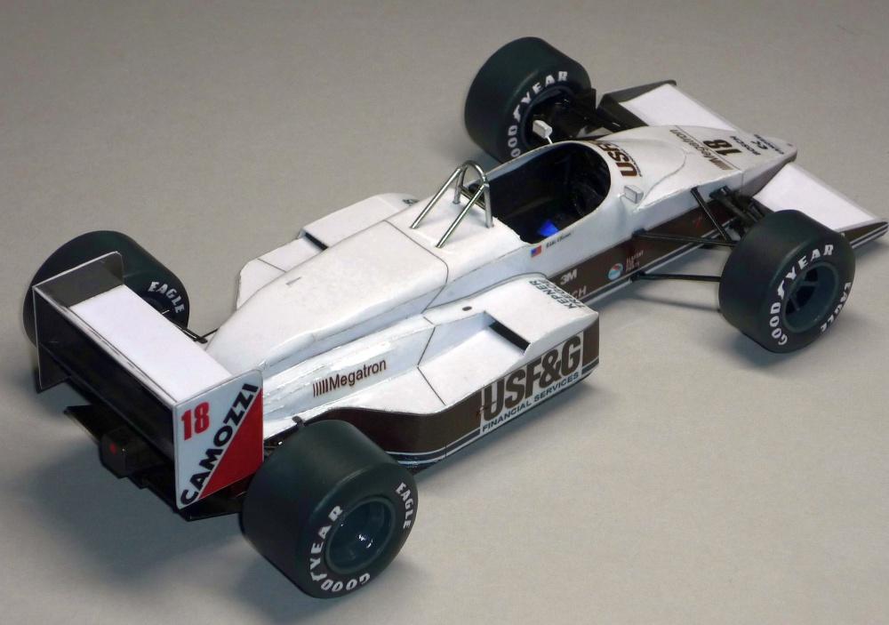 Arrows A10B - Eddie Cheever - 1988