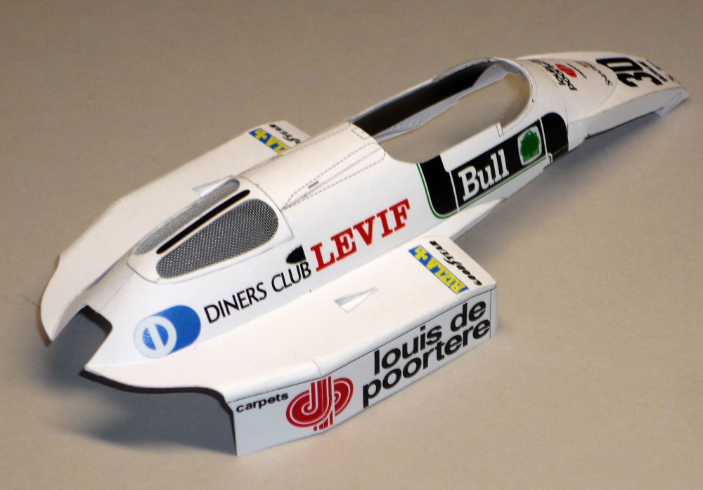 Arrows A6 - Thierry Boutsen - GP Belgie 1983