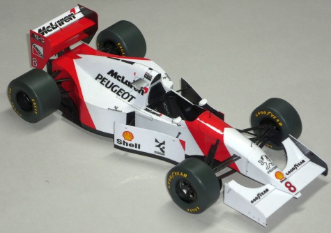McLaren MP4/9 - Martin Brundle - GP Francie 1994