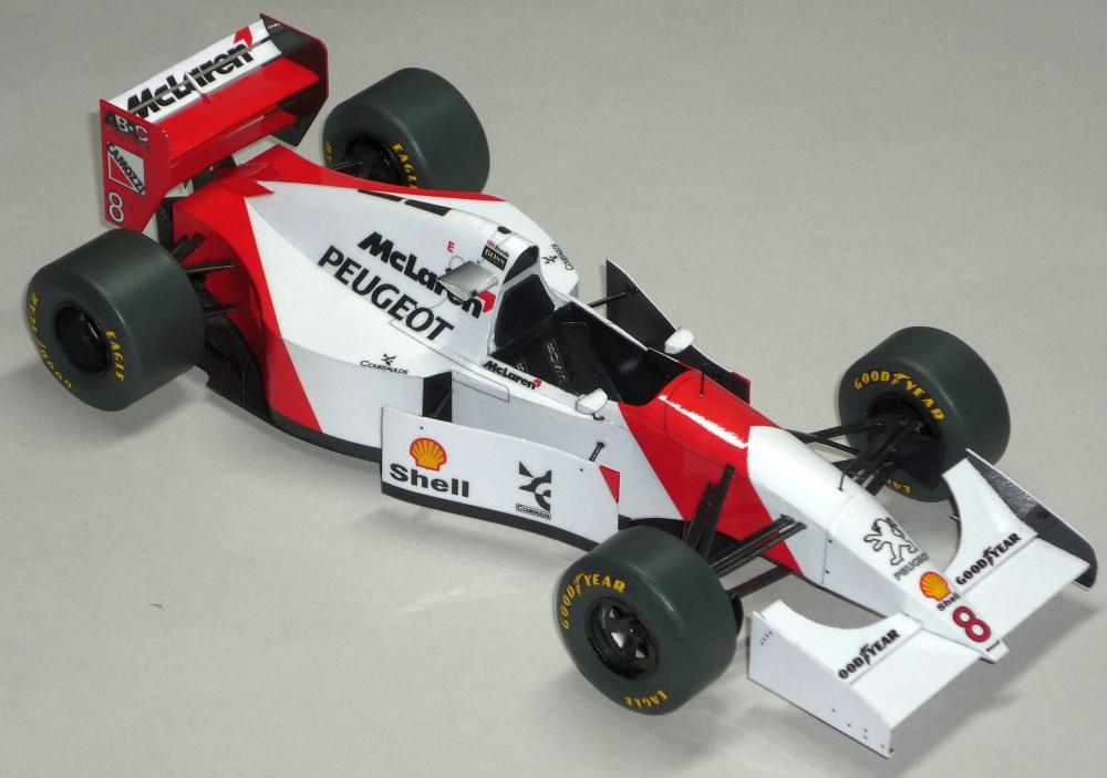 McLaren MP4/9 - Martin Brundle - GP Francie 1994