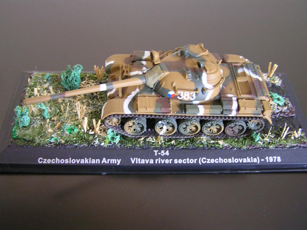 Tank T-54 Československej armády, rok 1978