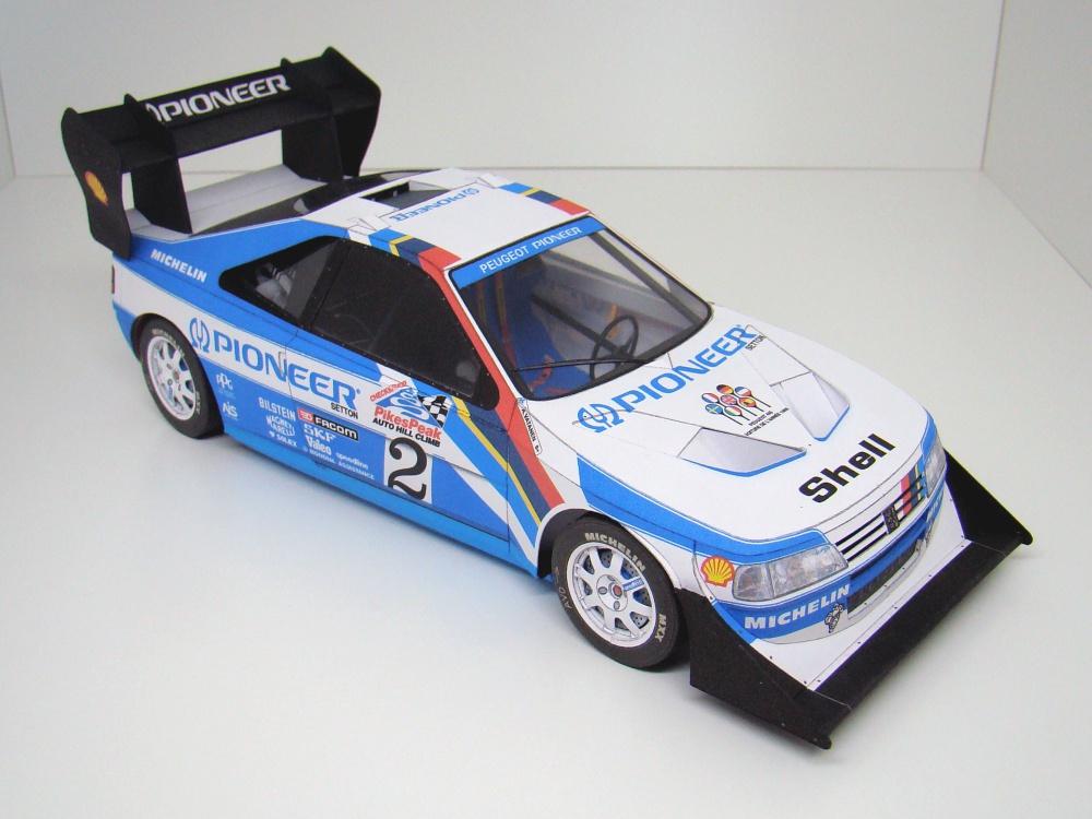 Peugeot 405 Turbo 16 GR Pikes Peak 1988