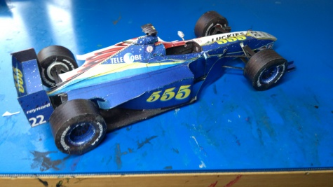 BAR 001 Supertec 1999 #22  J. Villeneuve