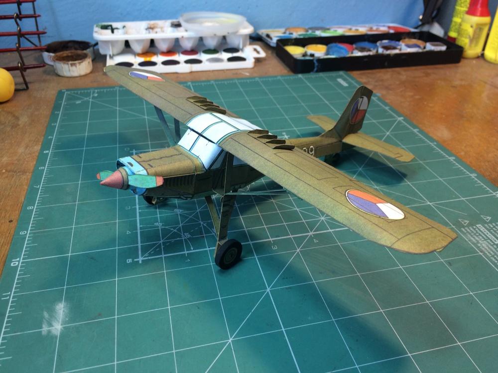 pozorovací letoun K-60