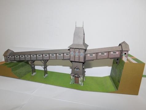Dřevěný krytý most - Nové Město nad Metují
