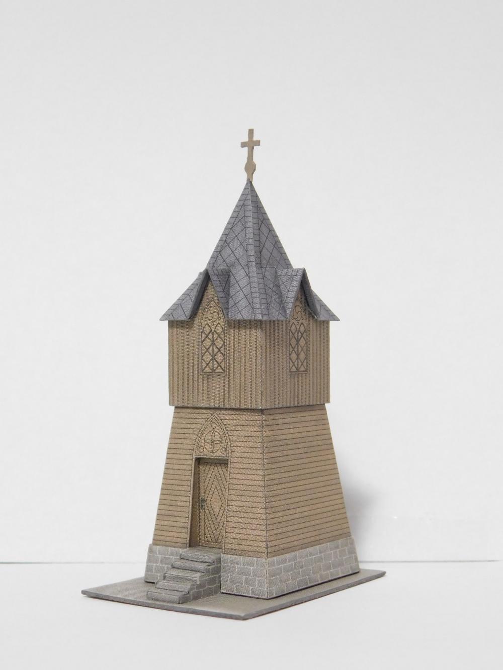 Dřevěná zvonice - Jamartice u Rýmařova