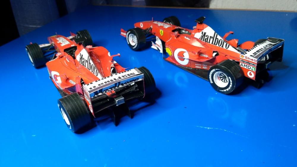 Ferrari F 2003 GA GP Španělska