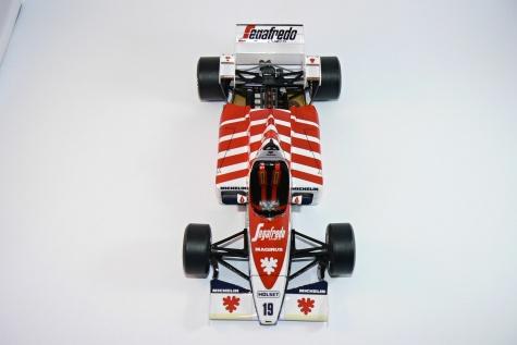 TOLEMAN TG184, Ayrton Senna - GP Portugal 1984