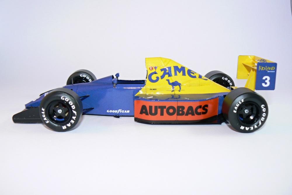 TYRRELL 018, Jonathan Palmer- GP Japan 1989