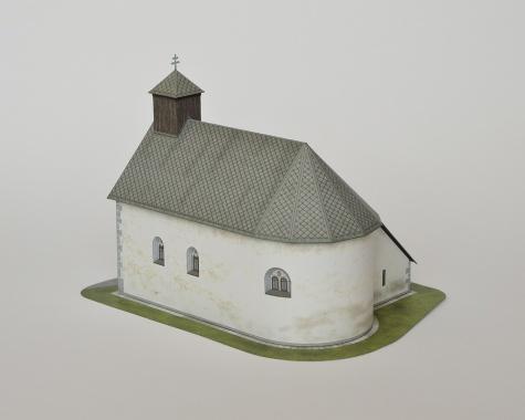Kostol sv. Barbory, Jazernica