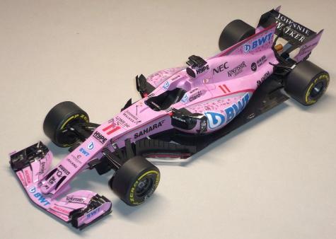 Force India VJM 10 - GP Španělska - 2017