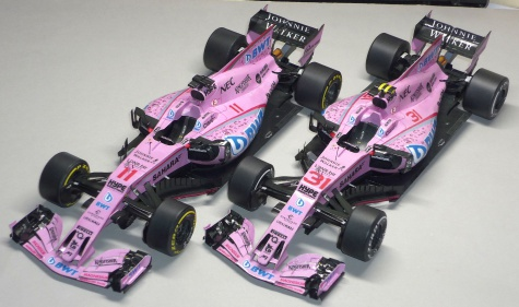 Force India VJM 10 - GP Španělska - 2017