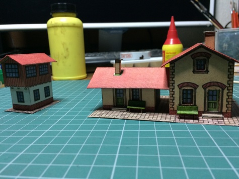 zelznicni stanice a hradlo