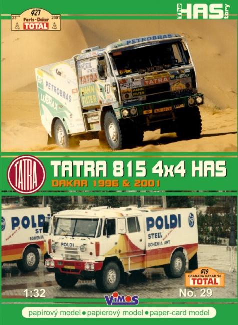 Tatra 815 4x4 HAS - vydání
