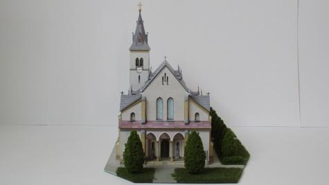 Kostel Nanebevzetí Panny Marie - Rapotín