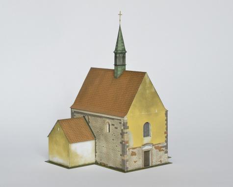 Kostol satia sv. Jána Krstiteža, Praha - Dolní Chabry