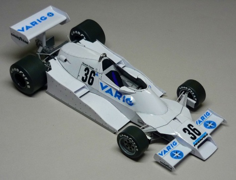 Arrows FA1 - Riccardo Patrese - GP Brazilie 1978