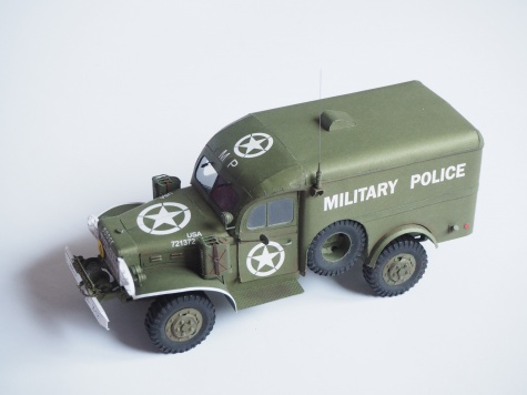 Dodge WC-54 Military police
