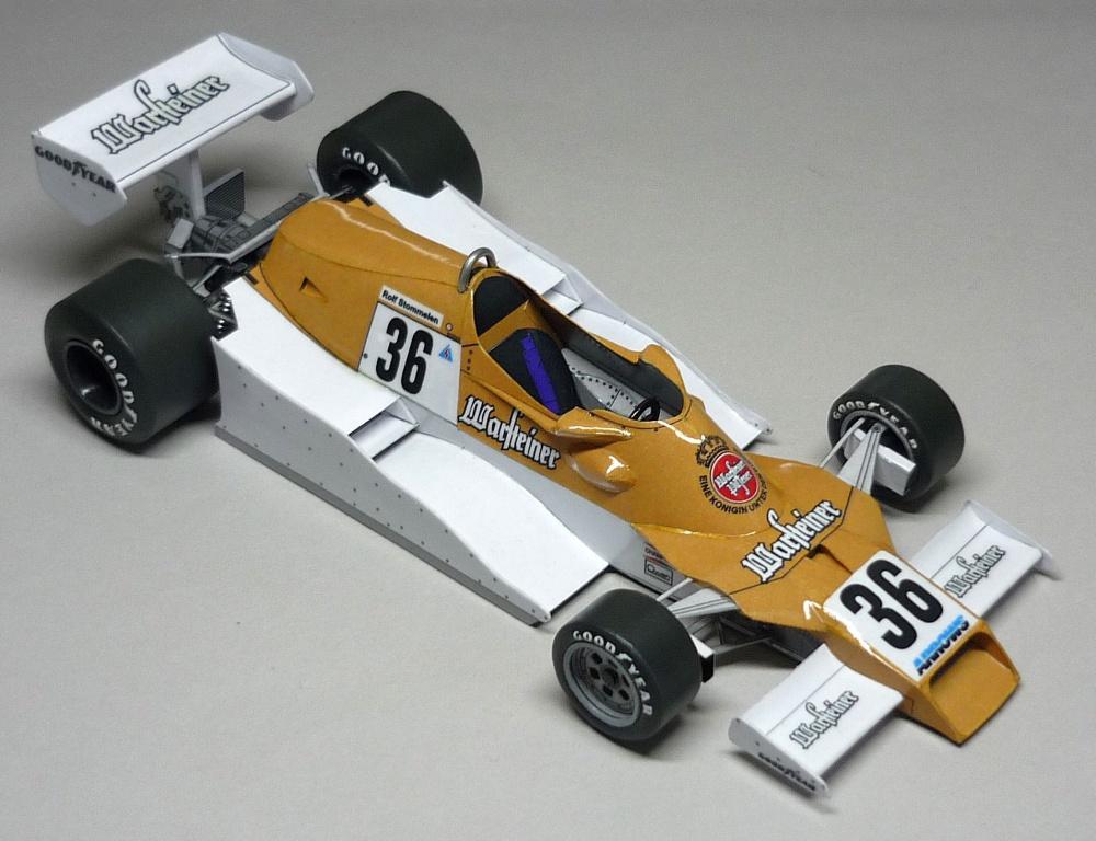 Arrows FA1 - Rolf Stommelen - GP JAR 1978