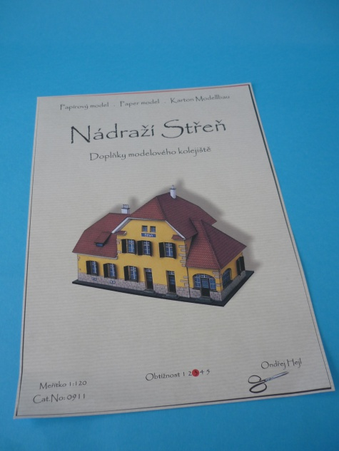 nádraží Střeň