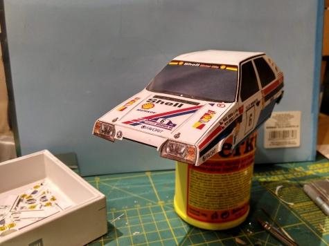Škoda Favorit Rallye Bohemia Sibera Gross 1990