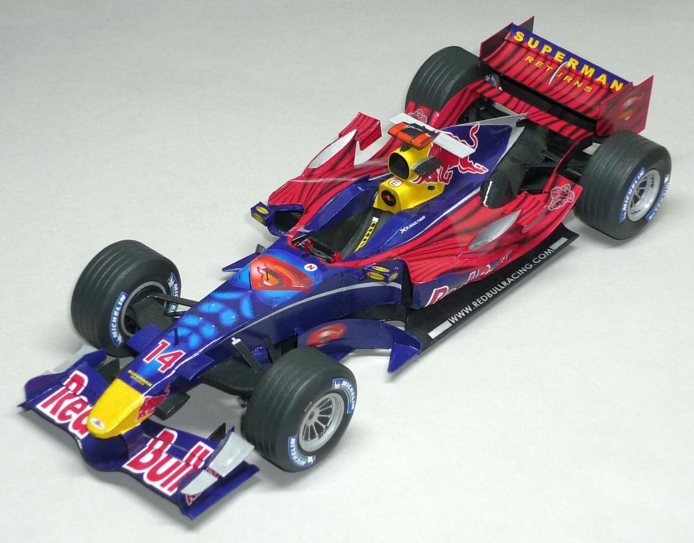Red Bull RB2 - David Coulthard - GP Monaka 2006