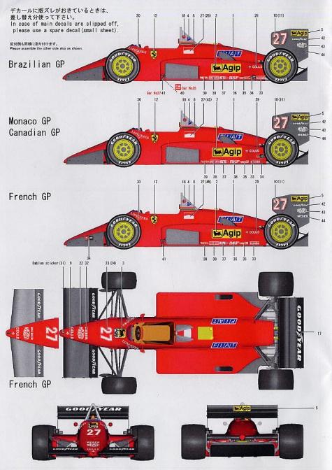 Ferrari 156/85 tipo 635 1985