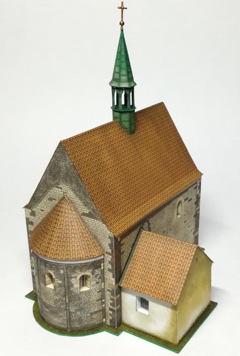 Kostel Stětí sv. Jana Křtitele Dolní Chabry - 24h