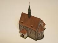 Kostel stìtí sv. Jana Køtitele Dolní Chabry