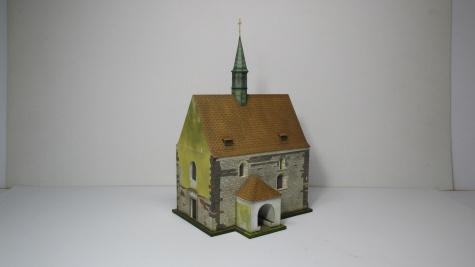 Kostel Stětí sv. Jana Křtitele - Dolní Chabry