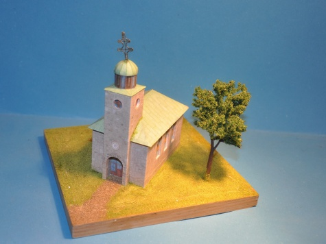 Kostel nad Kalváríií - OŠČADNICA